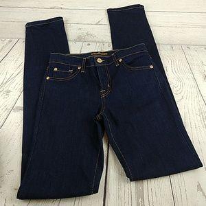 New David Kahn skinny denim jeans 27